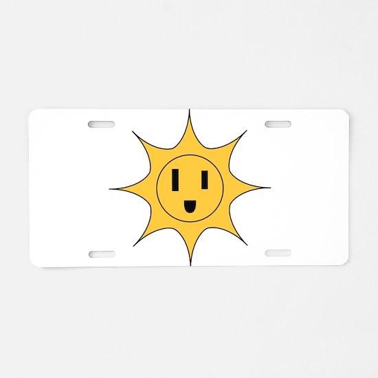Li'l Sonny Powers Aluminum License Plate