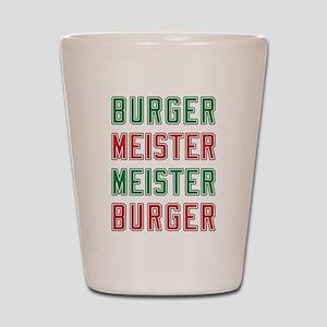 Burger Meister Meister Burger Shot Glass