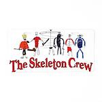The Skeleton Crew Aluminum License Plate