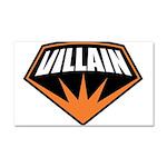 Villain Car Magnet 20 x 12