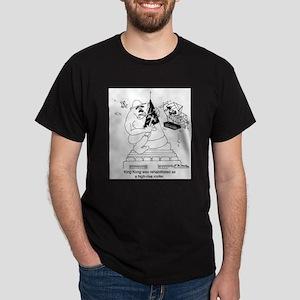 King Kong As A Roofer Dark T-Shirt