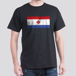 Mordovia Flag Black T-Shirt