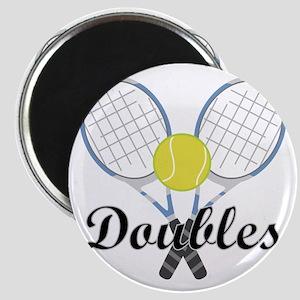 Tennis Doubles Magnet