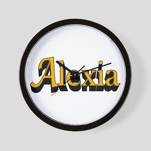 Alexia Name Wall Clock