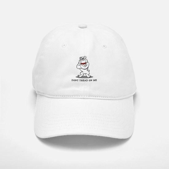 Bulldog Don't Tread on Me Baseball Baseball Cap