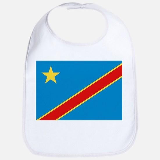 Democratic Rep. Congo Flag Bib