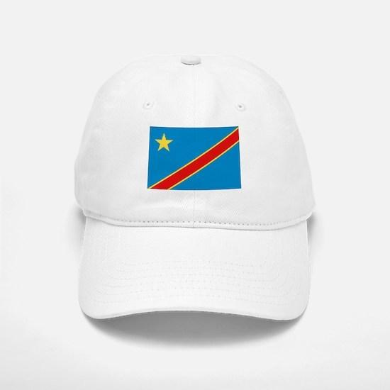 Democratic Rep. Congo Flag Baseball Baseball Cap