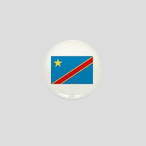 Democratic Rep. Congo Flag Mini Button