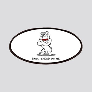 Bulldog Don't Tread on Me Patches