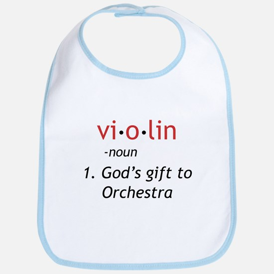 Definition of a Violin Bib