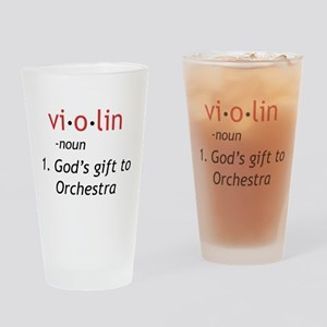 Definition of a Violin Drinking Glass