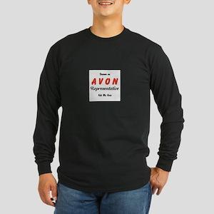 Become an Avon Rep Long Sleeve Dark T-Shirt