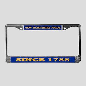 New Hampshire Pride License Plate Frame