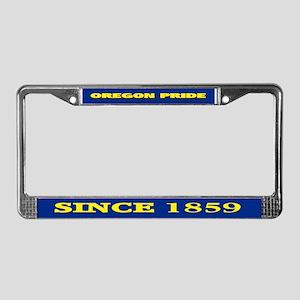 Oregon Pride License Plate Frame