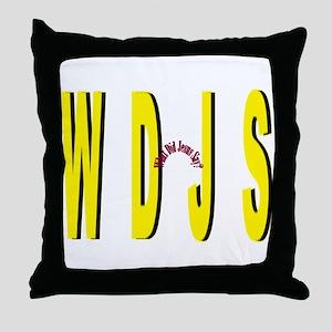 WDJS Throw Pillow