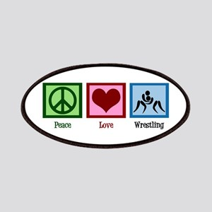 Peace Love Wrestling Patches