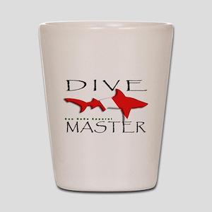 Dive Master Shot Glass