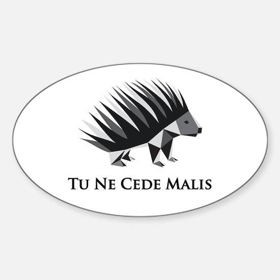 Gadsen Tu Ne Cede Malis Sticker (Oval)