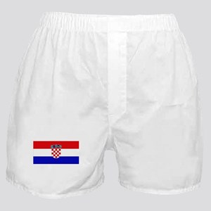 Croatian Flag Boxer Shorts
