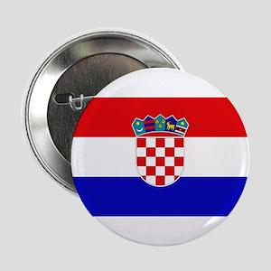 Croatian Flag Button