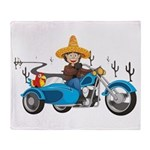 mexican Blanket Collection - Motorcycle