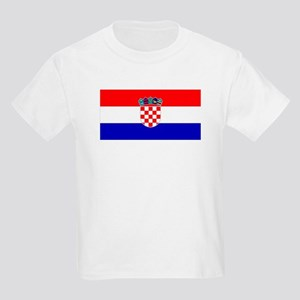 Croatian Flag Kids T-Shirt