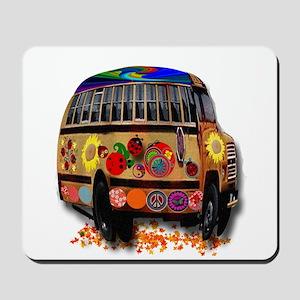 Ladybug bus Mousepad