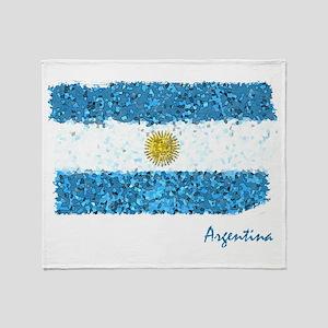 Argentina Pintado Throw Blanket
