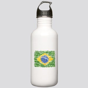 Textual Brasil Stainless Water Bottle 1.0L