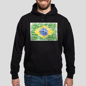 Textual Brasil Hoodie (dark)