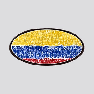 Textual Colombia Patches