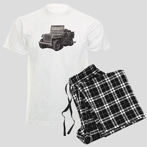 Army Jeep Men's Light Pajamas