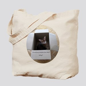Thinking Outside the Box Tote Bag