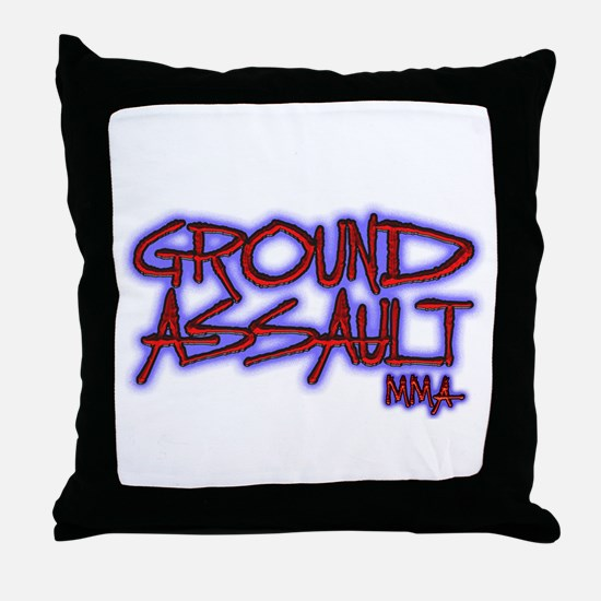 Cool Wrestling pin Throw Pillow