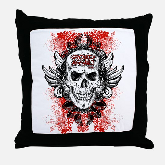 Wrestling pin Throw Pillow