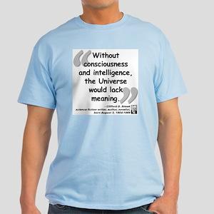 Simak Universe Quote Light T-Shirt