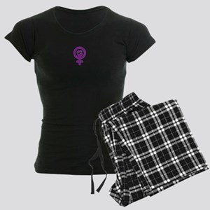 Femifist Women's Dark Pajamas