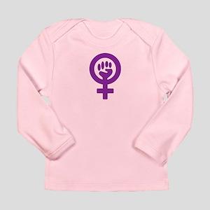 Femifist Long Sleeve Infant T-Shirt