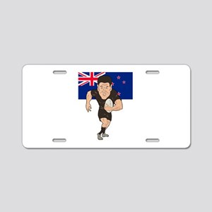 New Zealand rugby Aluminum License Plate