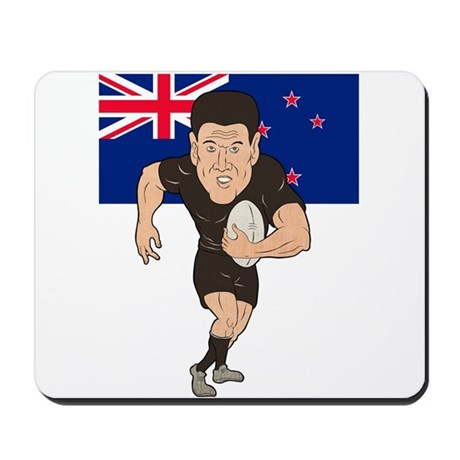 New Zealand rugby Mousepad