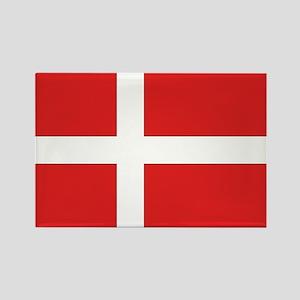 Denmark (Dannebrog) Flag Rectangle Magnet
