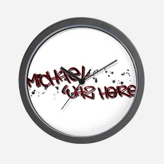 Michael WH Wall Clock
