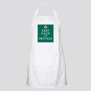 Keep Calm and Recycle Apron