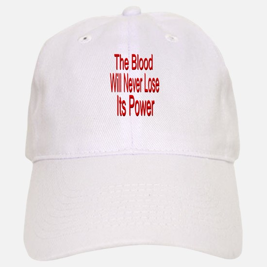 The Blood Baseball Baseball Cap