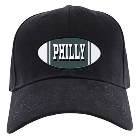 Philly Green Black Cap