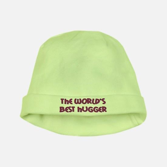 World's Best Hugger baby hat