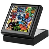 Superhero Square Keepsake Boxes