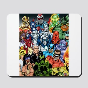 Heroes of The Infiniverse Mousepad