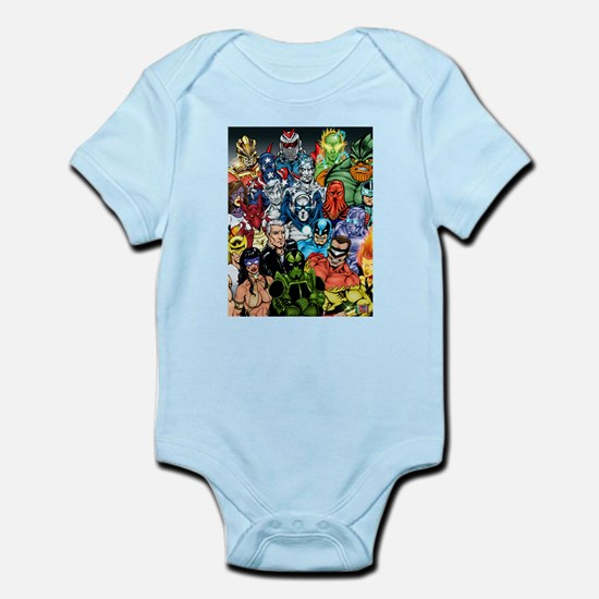 Heroes of The Infiniverse Infant Bodysuit