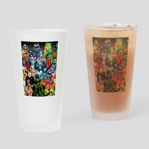 Heroes of The Infiniverse Drinking Glass
